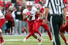 South Alabama Coach Steve Campbell is looking for wide receiver Jalen Tolbert to step outside and make a lot of plays. (Scott Donaldson/South Alabama Athletics