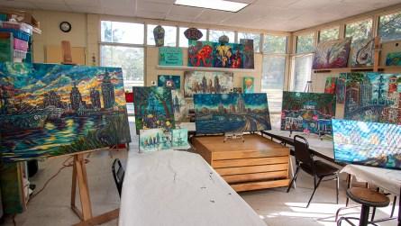 The Art Center at Lavretta Park in Mobile. (Dennis Washington / Alabama NewsCenter)
