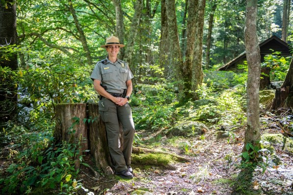 Lisa Hendy, chief ranger of the Great Smoky Mountains National Park, earned her degree in park and recreation management at Auburn. (Philip Smith)