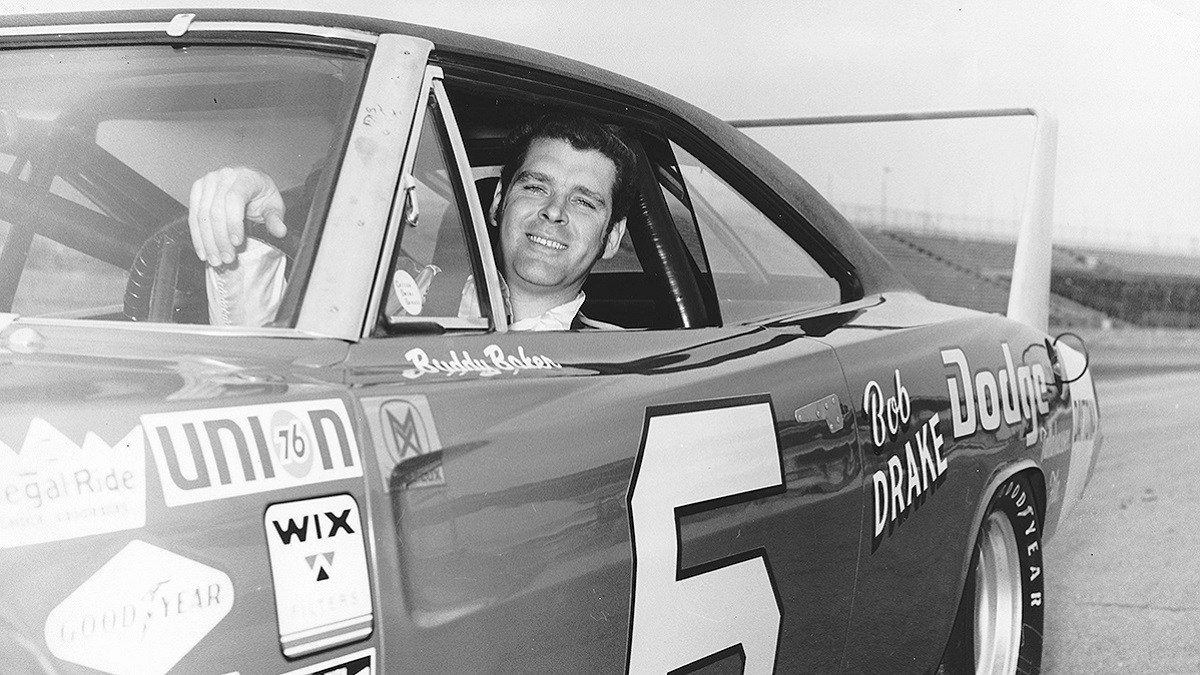 Giant direction on a giant track: Buddy Baker's route to wins at Talladega Superspeedway