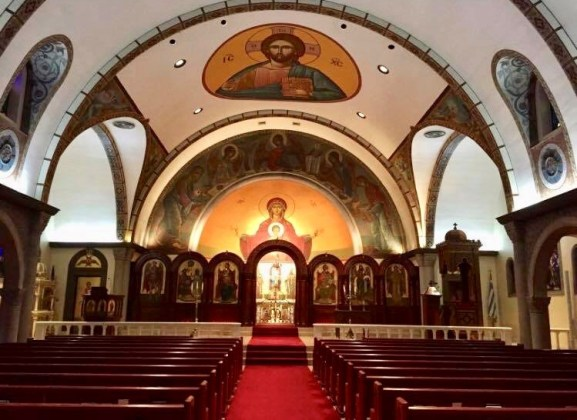 Take a self-guided tour of the Holy Trinity Holy Cross Greek Orthodox parish between 10:30 a.m. and 9 p.m. during the three-day festival with parishioners available to answer questions. (contributed)