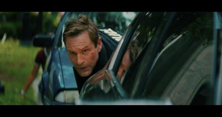 """Aaron Eckhart stars as Frank Penny in """"Line of Duty,"""" a movie shot in Birmingham last year. (contributed)"""