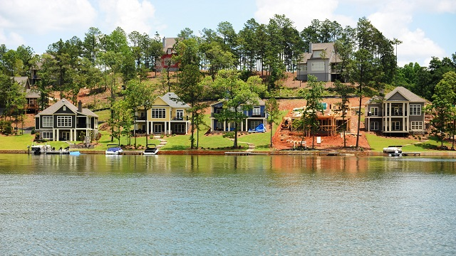 Lake Martin waterfront home sales up significantly from one year ago