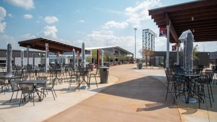 Big Bill's Social Club is one of several new fan experiences at Talladega Superspeedway. (Dennis Washington/Alabama NewsCenter)