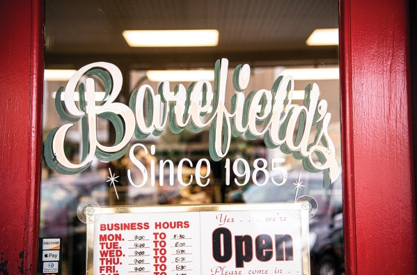 Barefield's is among the inviting restaurants in downtown Ozark. (Phil Free/Powergrams)