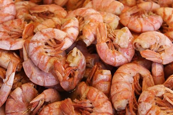 The popular festival will have 10,000 pounds of shrimp daily. (National Shrimp Festival)