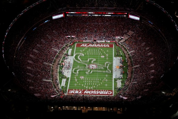 Tuscaloosa's Bryant-Denny Stadium will play host to the AHSAA Super 7 High School Football Championships every third year starting in 2023. (Crimson Tide Photos)