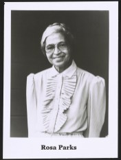 Rosa Parks, c. 1980-1990. (Library of Congress Prints and Photographs Division)