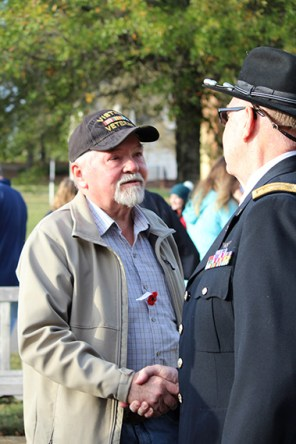 Join American Village for a Service of Remembrance and Thanksgiving at 11 a.m. on Veterans Day followed by a wreath laying. (contributed)