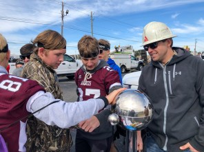 Students learn about career options in energy during Worlds of Work at Bevill State Community College in Hamilton. (Melinda Weaver / Alabama Power)