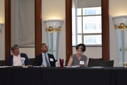 Some of the nation's foremost philanthropic investment experts took part in the roundtable discussion. (Donna Cope / Alabama NewsCenter)