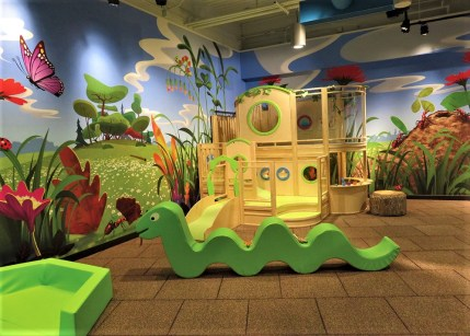 The museum features an insect-themed playground. (Cook Museum of Natural Science)