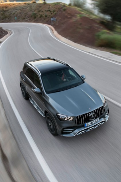 Sales of the Mercedes-Benz GLE surged in November. (Mercedes)