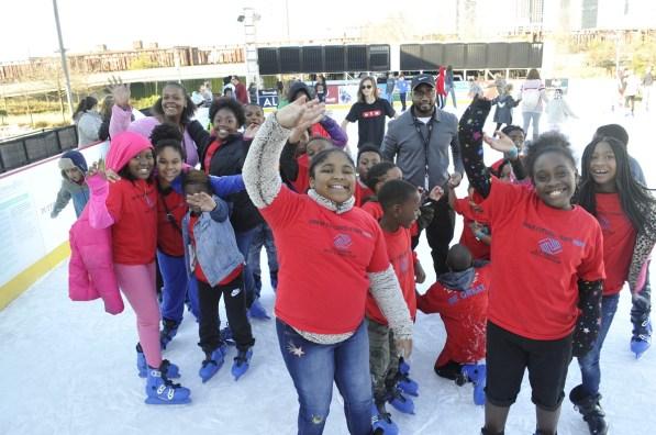 Children from the A.G. Gaston Boys & Girls Club enjoy an afternoon of playtime. (Karim Shamsi-Basha/Alabama NewsCenter)