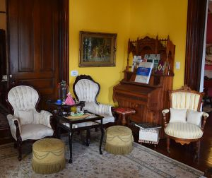 Antique furniture true to the Victorian era fills every room. (Donna Cope/Alabama NewsCenter)