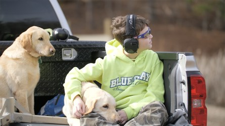 The kids are selected through Make-A-Wish and the United Special Sportsman Alliance, all recovering from a life-threatening illness such as cancer or a life-altering disorder like autism. (Dennis Washington / Alabama NewsCenter)