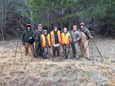 In addition to the hunting trip, the kids are also given hunting clothes, a DVD video of their weekend and a canvas picture. (contributed)