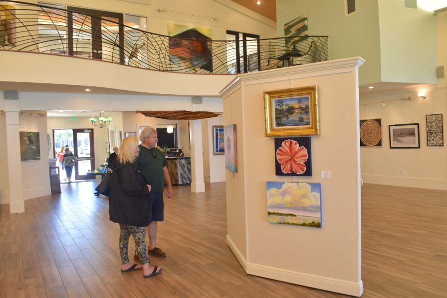 The Coastal Arts Center's rich menu of year-round events is possible because of the nonprofit Friends of the Arts. (Karim Shamsi-Basha/Alabama NewsCenter)