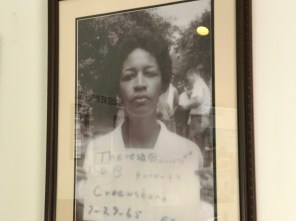 Theresa Burroughs founded the Safe House Black History Museum. (Michael Tomberlin / Alabama NewsCenter)