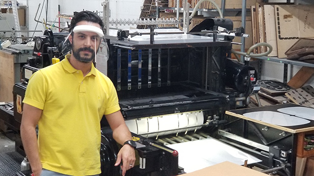 Alabama printer making face shields for health care workers