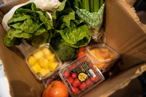 Ashley Mac's is delivering its food for orders or $100 or more and has added fresh produce boxes to its list of offerings. (Phil Free/Alabama NewsCenter)
