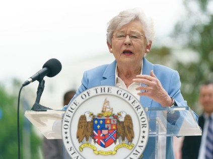 Alabama Gov. Kay Ivey has launched a Ribbons of Hope campaign for the state. (Sydney A. Foster/Governor's Office)