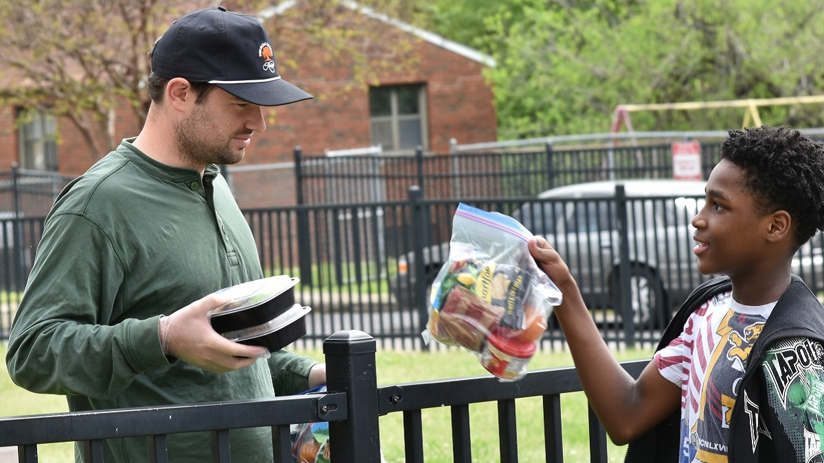 Food companies serve free meals, treats to those in need and front-line workers during pandemic