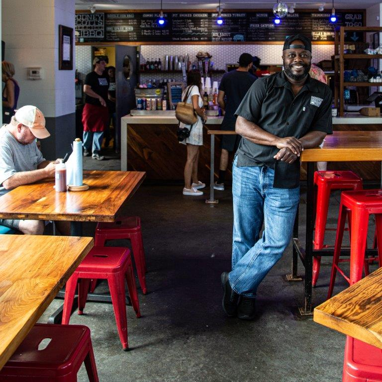 Rodney Scott is a James Beard Award winner and a semi-finalist for this year's Barbecue Hall of Fame. (Angie Mosier)