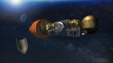 Dynetics and its team are working on a single-structure system for its moon lander. (Dynetics)