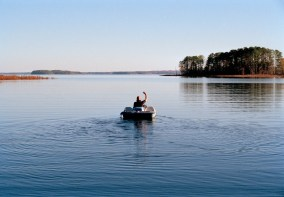 The marina at Oak Mountain State Park has canoe and pedal boats rentals available. (Getty Images)