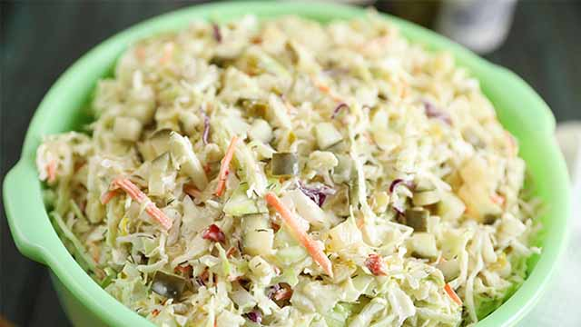 Recipe: Dill Pickle Coleslaw