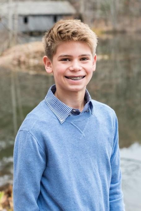 Eli Stapler of Hampton Cove Middle School. (Alabama Humanities Foundation)