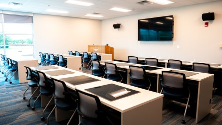 A specially designed classroom is also available. (contributed)