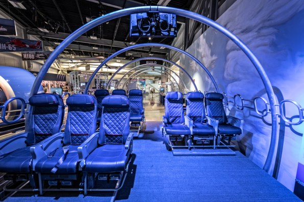 Visitors can learn about aviation and aerospace careers in the Cabin Theater. (contributed)