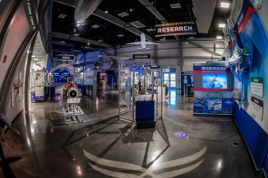 The 15,000-square-foot aerospace exhibition and education center is located at the Mobile Aeroplex at Brookley. (contributed)