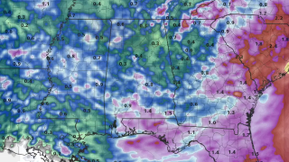 James Spann: Very humid day for Alabama with numerous showers, storms