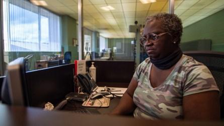 Katie Glenn works at Alabama Power's H. Neely Henry Dam. (Dennis Washington / Alabama NewsCenter)