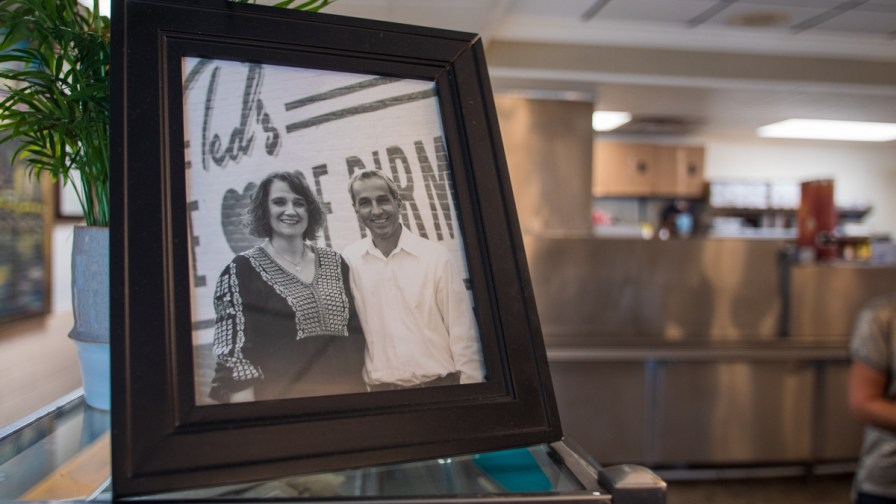 For the past 20 years, Tasos and Beba Touloupis have owned Ted's, keeping an important — and tasty — tradition going and looking to the future. (Dennis Washington / Alabama NewsCenter)
