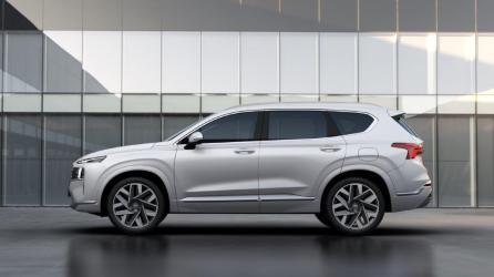 The 2021 Hyundai Santa Fe will be available in a premium Calligraphy model. (Hyundai)