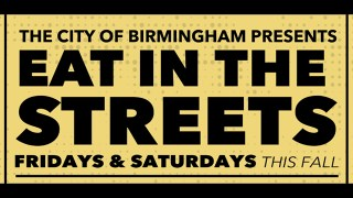 Birmingham Eat in the Streets will have a Halloween theme in Avondale on Oct. 30 and 31