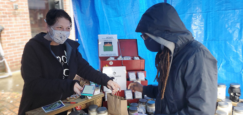 Woodlawn Street Market will offer a variety of holiday gift ideas from 50 vendors Dec. 13. (contributed)