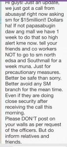sm bomb threat