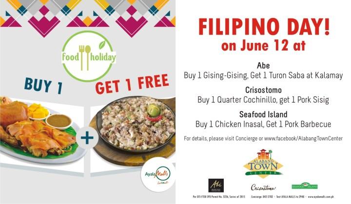 Filipino Day fb offer