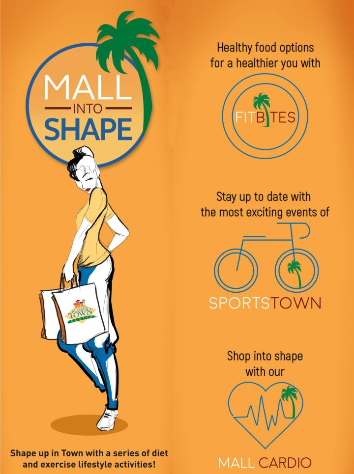 Mall Into Shape