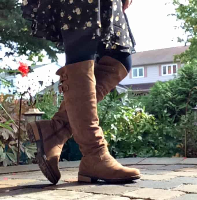 shoe dazzle over the knee boots