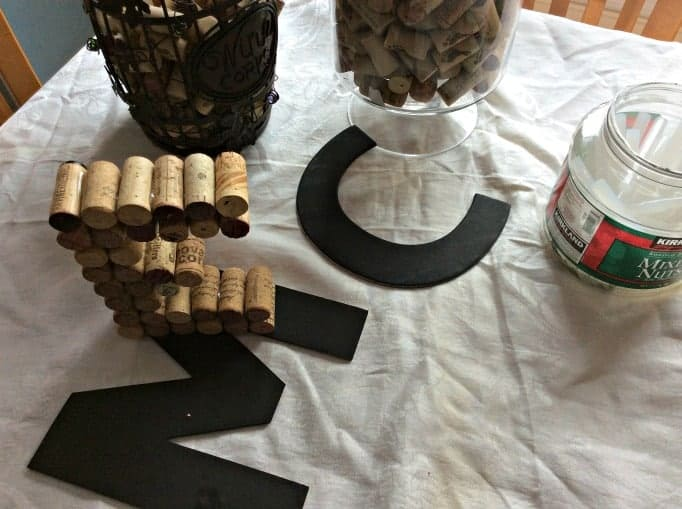 crafting with corks