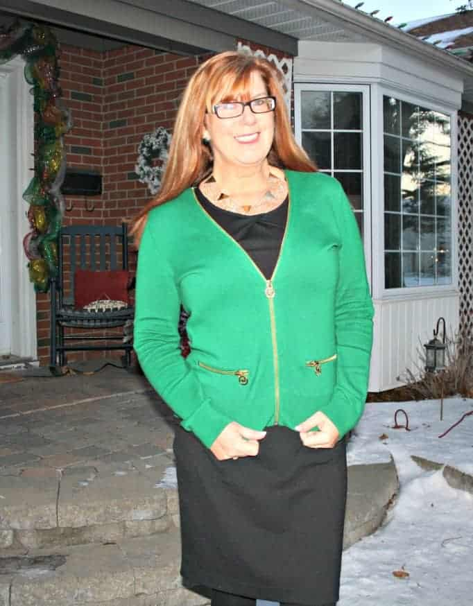 michael kors emerald green sweater