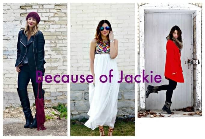 because of Jackie