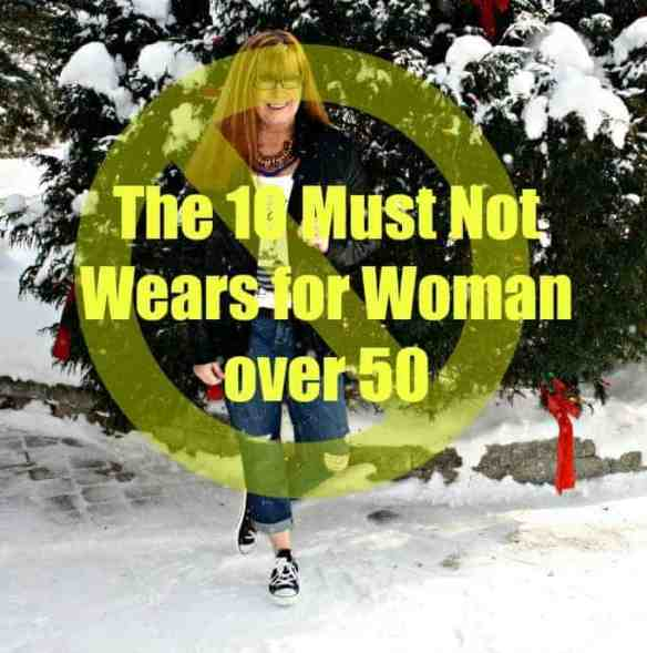 what not to wear after age 50