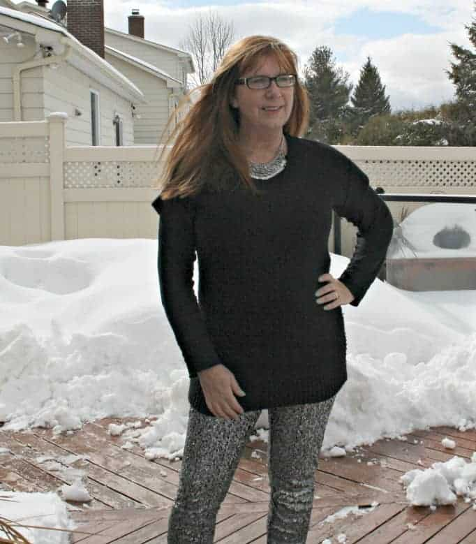 H&M Sequin Pants and J Crew Sweater, converse sneakers